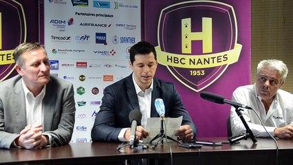 Clap de fin pour le plus grand joueur espagnol de l'histoire du Handball : Alberto Entrerrios, joueur du HBC Nantes