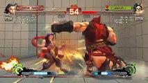 Ultra Street Fighter IV battle:Shark_Capixaba Rose Vs Neow_Neo Hugo