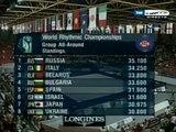 Mundial rítmica 2007. Final conjuntos. Grupo 2 (29-29)