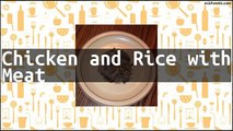 Recipe Chicken and Rice with Meat
