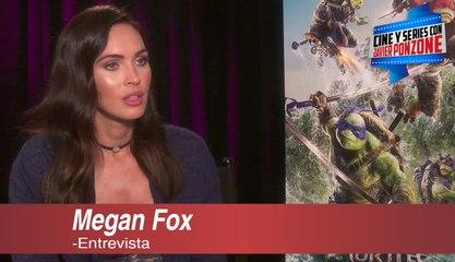 """A solas con Megan Fox de """"Tortugas Ninja 2: Fuera de las sombras"""" por Javier Ponzone"""