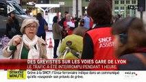 Loi travail - Le blocage des manifestants Gare de Lyon levé - Le trafic reprend progressivement