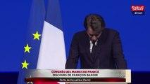 Les demandes de François Baroin à François Hollande au Congrès de l'AMF