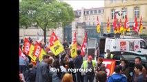 Manifestation contre la loi travail Nancy le 17 mai