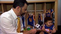 Baby Steph Curry & Baby LeBron James en interview