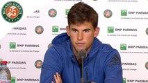 Roland-Garros 2016 - Conférence de presse Dominic Thiem - 1/4