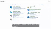 How to Add a user account_ Create a new Local Account in Windows 10 (Manage another accounts)