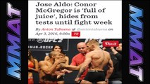 Jake STOCKTON SLAPS THE HELL out of opponent (pics); Aldo talking RECKLESS; DC update & more