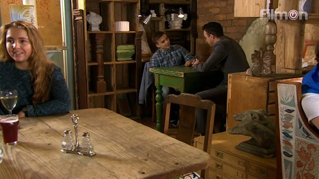 Hollyoaks Harry stands up to James