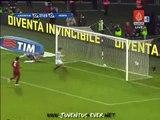juventus 1-0 roma - amazing foul by del piero