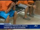 2 internos lideraban red que extorsionaba para dar protección a privados de libertad
