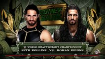 WWE Money in the Bank 2016 - Roman Reigns vs Seth Rollins Championship Full Match