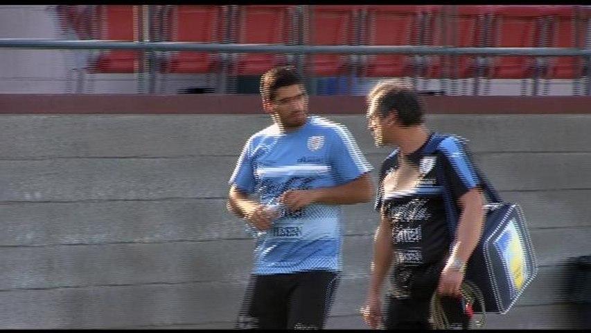 Luis Suárez completa su recuperación junto a la selección uruguaya en Phoenix