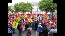 Manifestation contre la loi travail Nancy le 26 mai