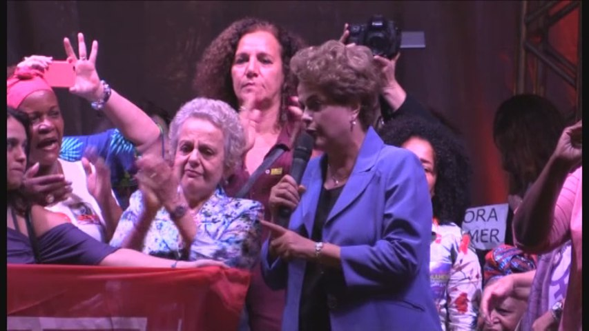 Rousseff critica a Temer por el nombramiento de una antiabortista