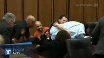 Au tribunal, un père s'en prend violemment au violeur de sa fille
