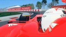 Vettel Onboard _ Montreal _ F1 Rfactor 2 _ Ferrari 2015