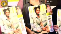 LAUNCH OF GRAZIA MAGAZINE WITH ACTRESS ADITI RAO HYDARI AT PEPE STORE