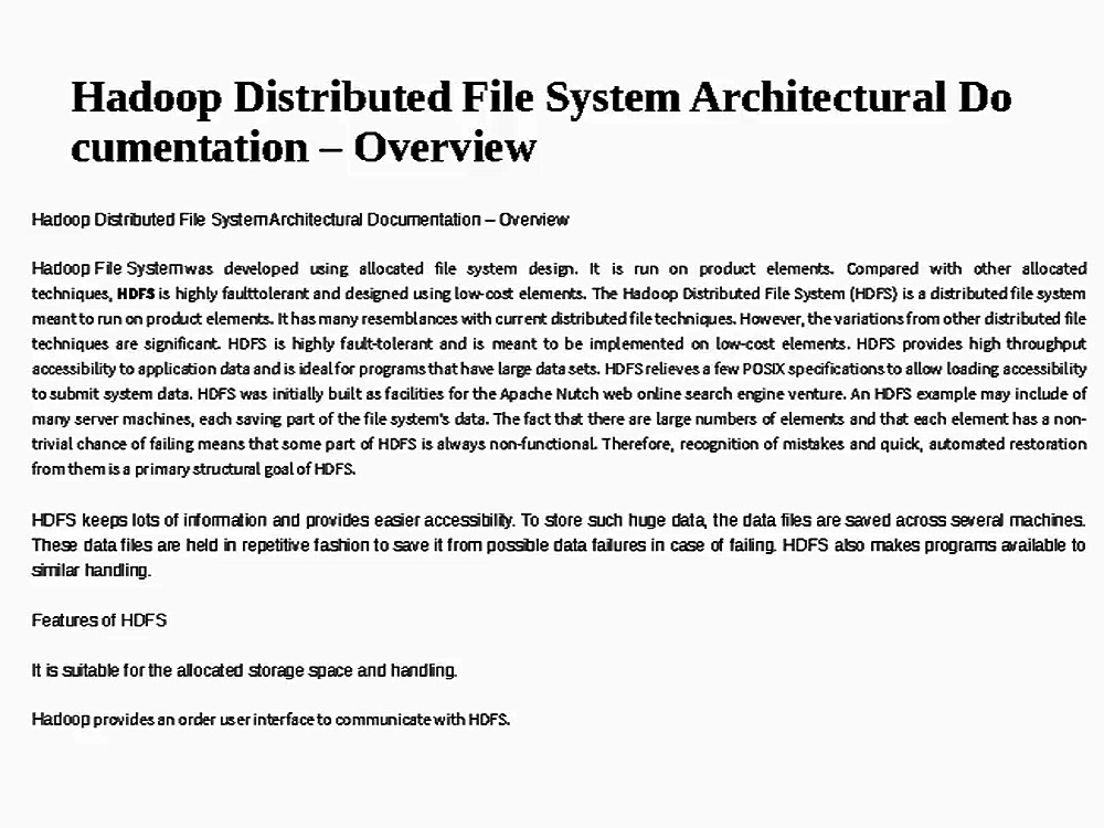 hadoop_File_System_Architectural_Documentation