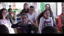 Semaine de la Persévérance scolaire - Relai de bracelets au collège Anna de Noailles de Luzarches (95)