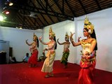 Visit Bali Apsara Dance at Siem Reap Art Center Market.AVI