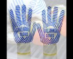 Oven Gloves   Extreme Heat Resistant EN407 Certified Grilling Gloves   Great as BBQ Gloves, Oven Mit