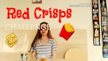 Red Crisps CHALLENGE - try sorts of CRISPS