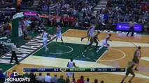 Dante Exum - 5 Threes! and Highlights at Milwaukee - Jan 22, 2015 - 15 Pts, 5 Assists, 5 Threes
