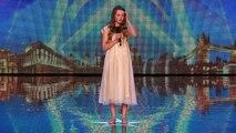 Quand elle dit qu'elle va chanter CETTE chanson, les juges la ridiculisent. Quelques minutes plus tard, INCROYABLE!