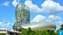 La cité du vin vient d'ouvrir ses portes à Bordeaux