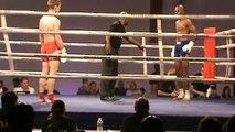 Audoui vs Babajee round 2 - 1-4 finale tournoi F-1 World Max 01-10-11 phenix muaythai