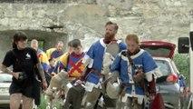 Les tournois de chevaliers revisités en sport de combat en armure