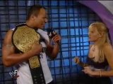 Wwe Smackdown! 2001 - The Rock Talks About His Handicap Matc