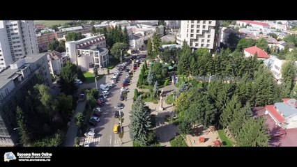 Municipiul Suceava (filmare aeriană)