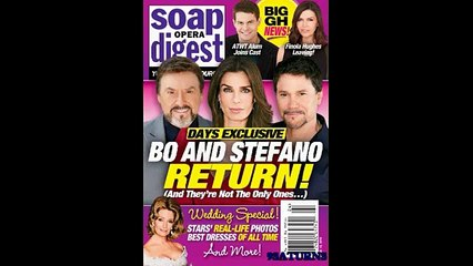 6-6-16 SOD GH Anna Days Of Our Lives Bo Hope Marlena Stefano General Hospital ATWT Promo 6-3-16