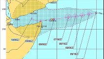 A new storm forms in the Arabian Sea
