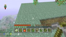 MINECRAFT LETS PLAY XBOX 360 /SKYBLOCK CHALLENGE EP 1 GETTING STARTED