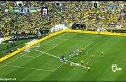 Enner Valencia Free kick ~ Brazil vs Ecuador