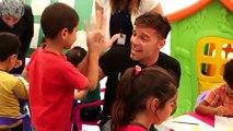 Ricky Martin y su solidaridad con refugiados sirios en el Libano