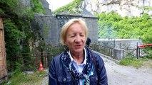 Passerelle du Portalet : Elisabeth Médard présidente de la communauté de communes de la vallée d'Aspe