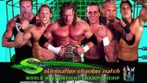 Goldberg vs Triple H vs Shawn Michaels vs Jericho vs Nash vs Orton Elimination Chamber Match 2003