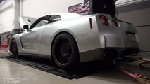 Nissan GT-R low boost dyno mapping