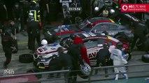La pluie provoque de nombreux accidents pendant les 4 Heures du Nürburgring
