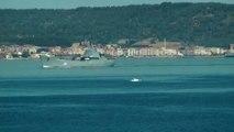 Rus Savaş Gemisi Çanakkale Boğazı'ndan Geçti - Çanakkale