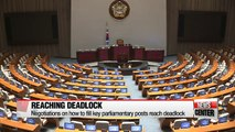 Partisan negotiations on how to fill key parliamentary posts reach deadlock