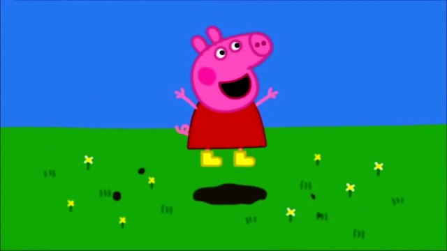Peppa pig Family Peppa pig loves muddy puddle Peppa pig has fun Peppa pig funny video snippet