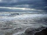 Rough surf at Nags Head, N.C. 3/17/07