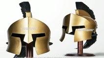 King Leonidas 300 Greek Spartan Trojan Warrior Helmet BRAND NEW