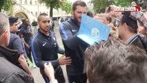 Euro 2016 : une jeune fille  fond en larmes devant les Bleus à Metz