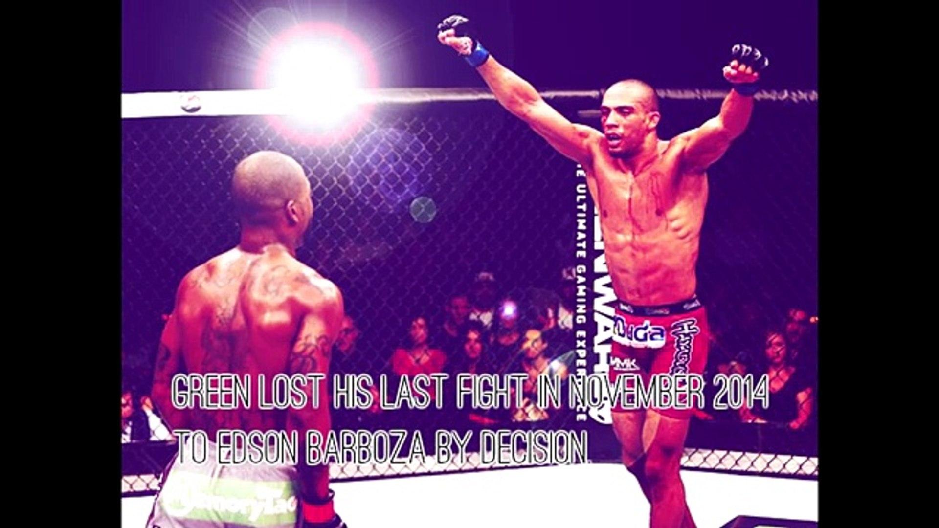 UFC 199 Bobby Green  Dustin Poirier talk some trash before their fight